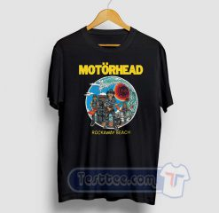 Motorhead Rockaway Beach Graphic Tees