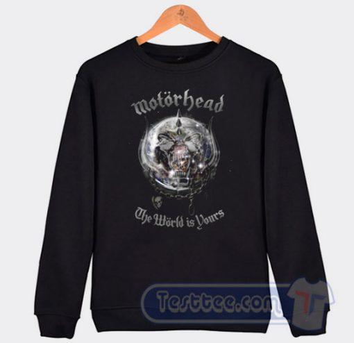 Motorhead The World Is Yours Graphic Sweatshirt