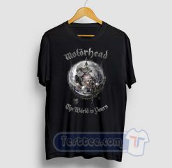 Motorhead The World Is Yours Graphic Tees