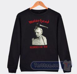 Motorhead What's Words Worth Graphic Sweatshirt