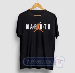 Naruto Air Jordan Graphic Tees