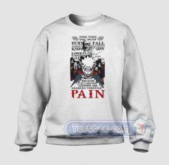 Naruto Pain Graphic Sweatshirt
