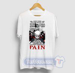 Naruto Pain Graphic Tees