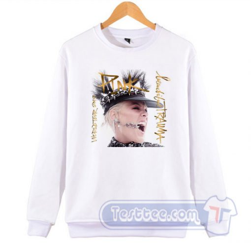 Pink Beautiful Trauma World Tour Sweatshirt