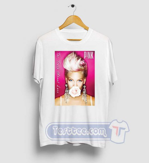 Pink Truth About Love Tee