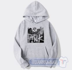 Cheap Pink What About Us Hoodie
