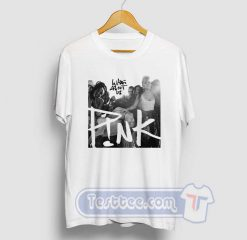 Cheap Pink What About Us Tees