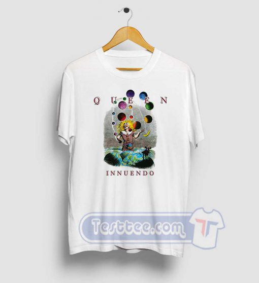 Queen Innuendo Album Tees