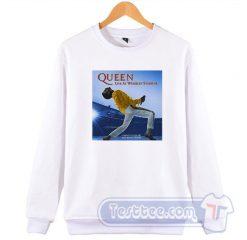Queen Live At Wembley 86 Sweatshirt