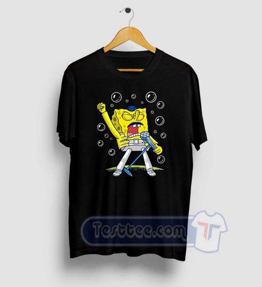 Queen Sponge Freddy Mercury Tees