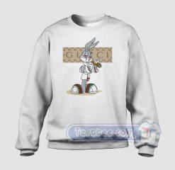 Rabbit Bugs Gucci Parody Sweatshirt