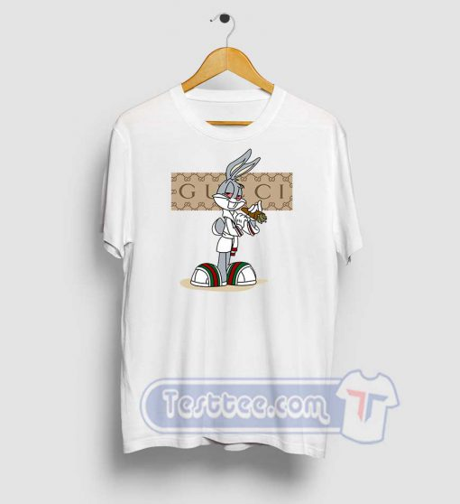 Rabbit Bugs Gucci Parody Tees