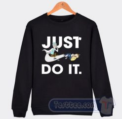 Rick And Morty Just Do It Graphic Sweatshirt
