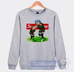 Rick And Morty X Supreme Graphic Sweatshirt