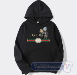 Rick And Morty X Gucci Parody Graphic Hoodie