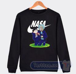 Rick And Morty X NASA Graphic Sweatshirt