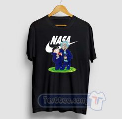 Rick And Morty X NASA Graphic Tees