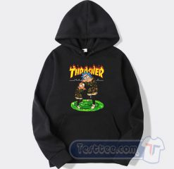 Rick And Morty X Thrasher Graphic Hoodie