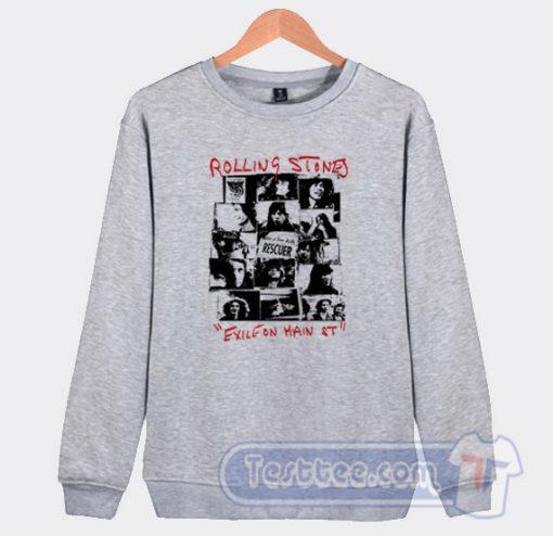 Rolling Stones Exile On Main Street Sweatshirt