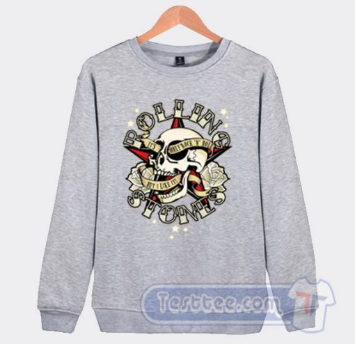 Rolling Stones Tattoos Dan Shearn Sweatshirt