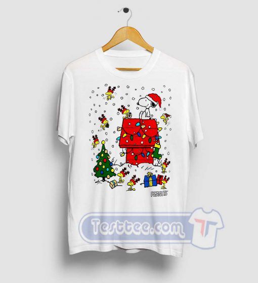 Snoopy Christmas Graphic Tees
