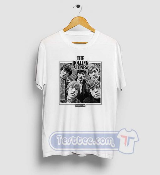 The Rolling Stones In Mono Tees