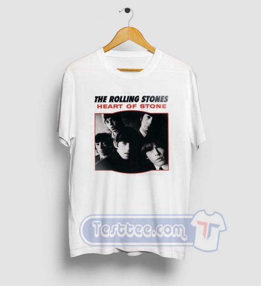 The Rolling Stones Heart Of Stone Tees