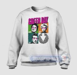 Uno Dos Try Green Day Graphic Sweatshirt