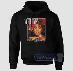 Whitney Houston Wanna Dance Graphic Hoodie