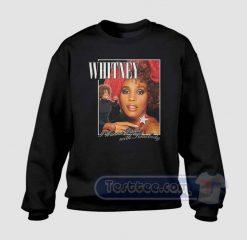 Whitney Houston Wanna Dance Graphic Sweatshirt