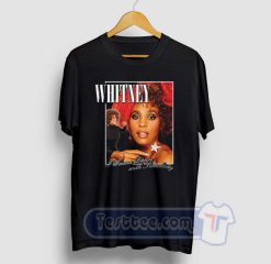 Whitney Houston Wanna Dance Graphic Tees