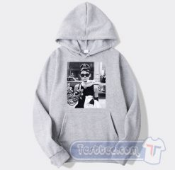 Audrey Hepburn Sunglasses Breakfast At Tiffany's Hoodie