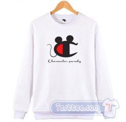 Champion Parody Mickey Mouse Sweatshirt