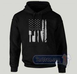 American Chef Logo Graphic Hoodie