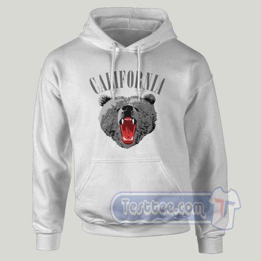California Bear Graphic Hoodie