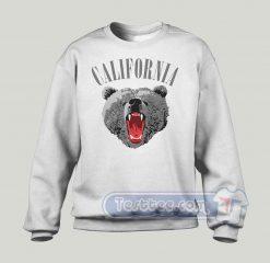 California Bear Graphic Sweatshirt
