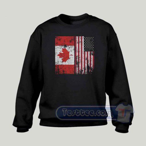 Canada America Graphic Sweatshirt