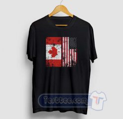 Canada America Graphic Tees