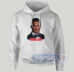 Charton Banks Thug Will Smith Graphic Hoodie