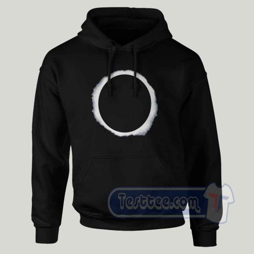 Circle Eclipse Graphic Hoodie