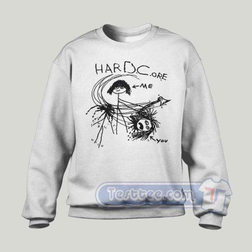 Dave Grohl's Hardcore Graphic Sweatshirt