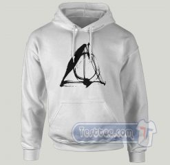 Daley Hallows Harry Potter Magic Graphic Hoodie