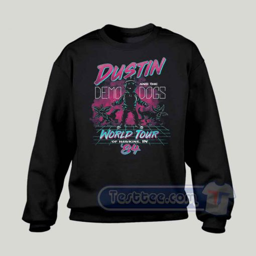 Dustin And Demo Dogs Concert Graphic Sweatshirt