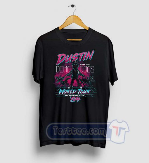 Dustin And Demo Dogs Concert Graphic Tees