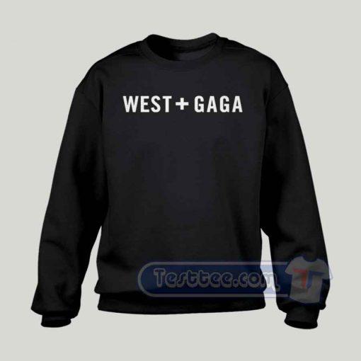 Kanye West Lady Gaga Graphic Sweatshirt