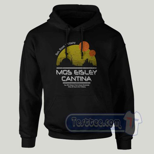 Mos Eisley Cantina Graphic Hoodie
