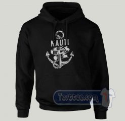 Nauti But Nice Anchor Graphic Hoodie