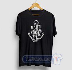 Nauti But Nice Anchor Graphic Tees