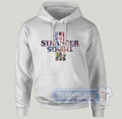 New Season Of Stranger Things Graphic Hoodie