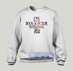 New Season Of Stranger Things Graphic Sweatshirt